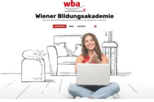 WBA Homepage während des 1. Lockdowns 2020